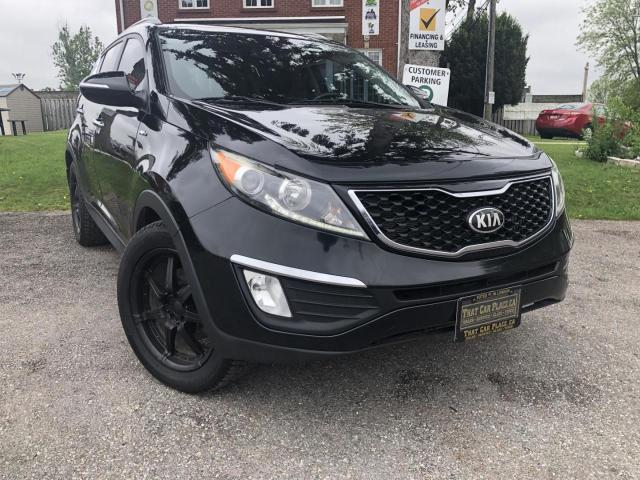 2013 Kia Sportage SX AWD-Navi-Heated and Coolest Lthr Seats-PanoRoof-Backup