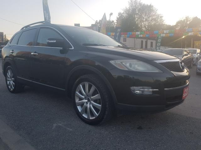 2007 Mazda CX-9 GS-7 Seats-Navi-Bk Up Cam-Leather-Sunroof-Alloys