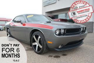 Used 2011 Dodge Challenger CHALLENGER R/T- GREAT CONDITION, UNDER 28,000 KMS,LEATHER, SUNROOF, NAVIGATION for sale in Bonnyville, AB