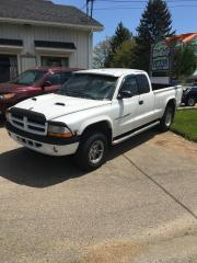 Used 2000 Dodge Dakota Cabine longue, empattement 131 po - Spor for sale in St-Boniface, QC