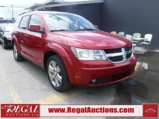 Used 2009 Dodge Journey SXT 4D Utility for sale in Calgary, AB