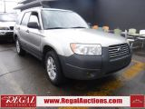 Photo of Silver 2007 Subaru FORESTER X 4D UTILITY AWD