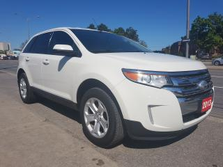 Used 2013 Ford Edge SEL-Extra Clean-Power-Bluetooth-USB-AUX-ALLOYS for sale in Scarborough, ON