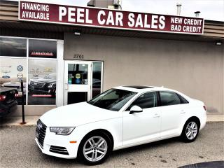 Used 2017 Audi A4 Komfort|LEATHER|MOONROOF|HEATED SEATS for sale in Mississauga, ON
