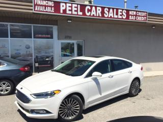 Used 2017 Ford Fusion SE|AWD|LEATHER|NAVIGATION|SUNROOF for sale in Mississauga, ON