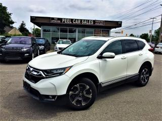 Used 2017 Honda CR-V TOURING|NAV|LEATHER|PANROOF|PWRSEATS&TRUNK|ALLOYS! for sale in Mississauga, ON