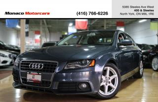 Used 2010 Audi A4 PREMIUM - BLINDSPOT|BANG&OLUFSEN|SUNROOF for sale in North York, ON