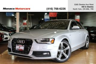 Used 2014 Audi A4 PROGRESSIV - S-LINE|NAVIGATION|SUNROOF|BLUETOOTH for sale in North York, ON