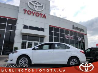 Used 2019 Toyota Corolla LE GREAT VALUE for sale in Burlington, ON