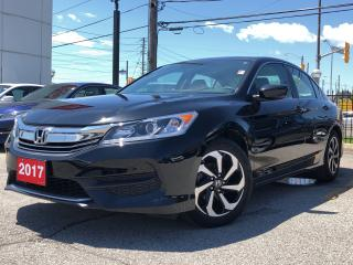 Used 2017 Honda Accord LX one owner, clean carproof report for sale in Toronto, ON