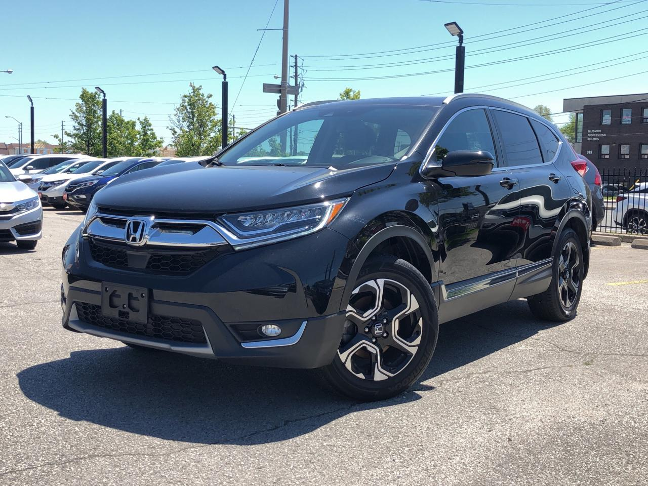 2017 Honda Lineup >> Used 2017 Honda Cr V Touring One Owner Top Of The Lineup For Sale