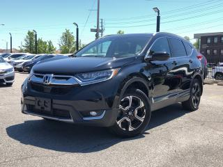 Used 2017 Honda CR-V Touring, one owner, top of the lineup for sale in Toronto, ON