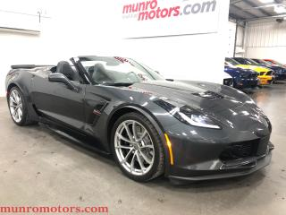 Used 2017 Chevrolet Corvette Grand Sport 2LT Conv 1 Owner Low Kms for sale in St. George Brant, ON