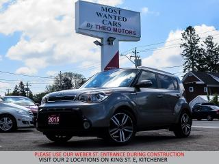 Used 2015 Kia Soul | NAVIGATION | COOLED SEATS | LEATHER for sale in Kitchener, ON