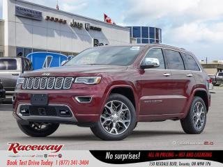 New 2019 Jeep Grand Cherokee OVERLAND 4X4 for sale in Etobicoke, ON