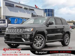 New 2019 Jeep Grand Cherokee Summit 4x4 for sale in Etobicoke, ON