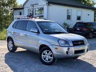 Used 2008 Hyundai Tucson LOW KMS Limited 4WD V6 Leather Sunroof for sale in Sutton, ON