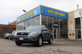 Used 2008 Toyota RAV4 Base I 4WD | CARFAX CLEAN | ALLOYS | TEST DRIVE TO YOUR HOUSE | WARRANTY INCLUDED for sale in Hamilton, ON