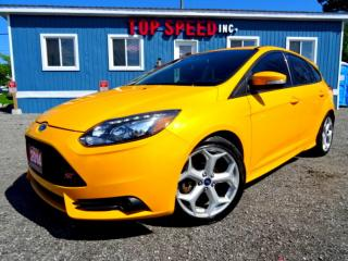 Used 2014 Ford Focus ST Hatch Navi Recaro Seats Sunroof Certified for sale in Guelph, ON