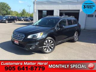 Used 2016 Subaru Outback 2.5i Limited  TECH-PKG  LD NAV ROOF LEATH CAM P/GATE for sale in St. Catharines, ON