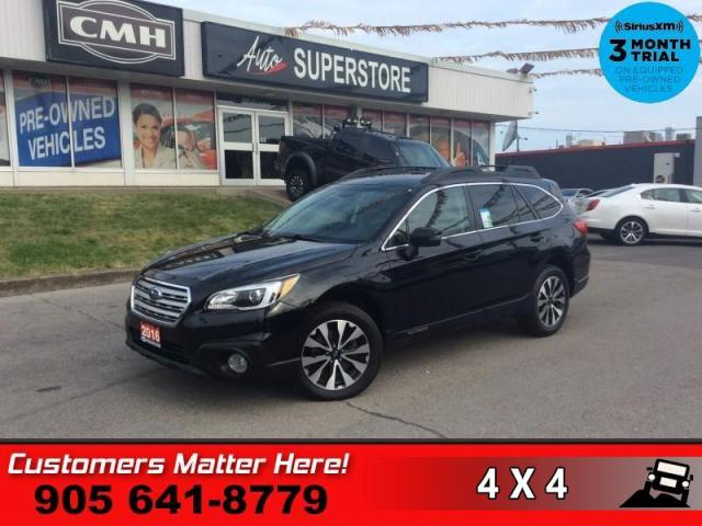 2016 Subaru Outback 3.6R Limited w/Tech  LEATH MEM NAV ROOF CAM