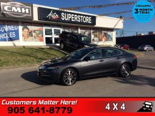 Used 2015 Acura TLX V6 Elite  AWD NAV ROOF CS/HS CAM P/SEAT MEM for sale in St. Catharines, ON