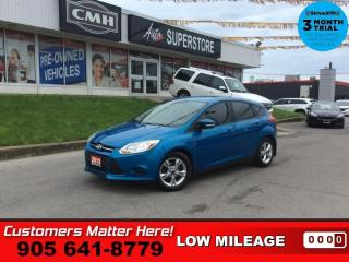Used 2013 Ford Focus SE  PWR-GRP HTD-SEATS ALLOYS BLUETOOTH for sale in St. Catharines, ON