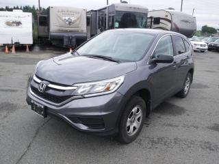 Used 2016 Honda CR-V LX AWD for sale in Burnaby, BC