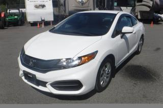 Used 2014 Honda Civic LX Coupe 5-Speed MT for sale in Burnaby, BC