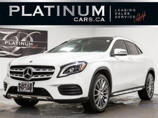 Used 2018 Mercedes-Benz GLA 250 4MATIC, AMG SPORT, NAVI, PANO, BLINDSPOT GLA-Class for sale in Toronto, ON
