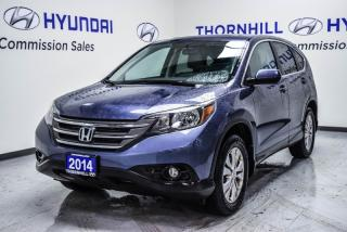 Used 2014 Honda CR-V EX-L  - Leather Seats -  Sunroof for sale in Thornhill, ON