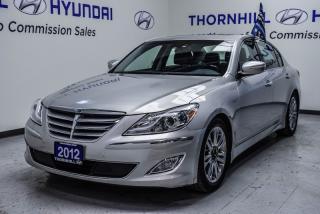 Used 2012 Hyundai Genesis SEDAN for sale in Thornhill, ON