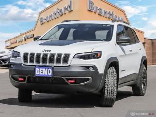 Used 2019 Jeep Cherokee Trailhawk  - Navigation -  Uconnect - $252.13 B/W for sale in Brantford, ON