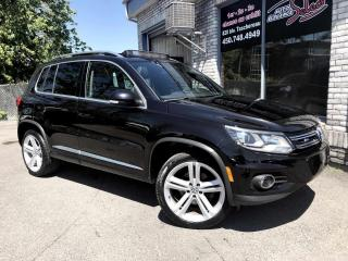 Used 2015 Volkswagen Tiguan Highline 4 portes 4MOTION BA RLINE for sale in Longueuil, QC