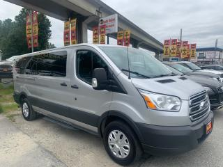 Used 2016 Ford Transit 350 Wagon Low Roof XL w/Sliding Pass. 148-in. WB for sale in Surrey, BC