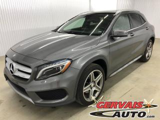 Used 2016 Mercedes-Benz GLA45 Gla 250 Awd Gps Cuir for sale in Trois-Rivières, QC