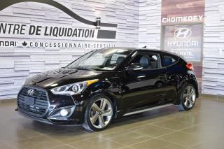 Used 2015 Hyundai Veloster Turbo+toit+mags+gps for sale in Laval, QC