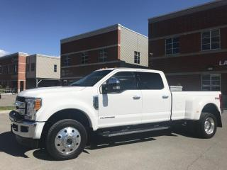 Used 2017 Ford F-450 XLT CUIR MARCHE PIEDS DIESEL FX4 for sale in Laval, QC