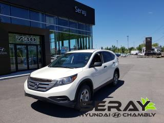 Used 2014 Honda CR-V Lx, A/c, Bluetooth for sale in Chambly, QC
