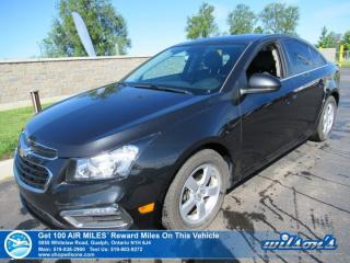 Used 2016 Chevrolet Cruze Limited LT - Leather, Sunroof, Alloys, Cruise Control, Power Package and more! for sale in Guelph, ON