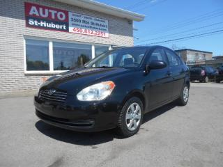 Used 2009 Hyundai Accent GL ** 123 000 KM CERTIFIÉ ** for sale in St-Hubert, QC