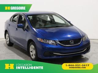 Used 2014 Honda Civic LX A/C GR ÉLECT for sale in St-Léonard, QC