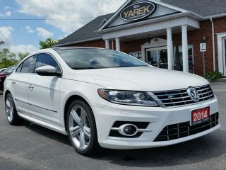 Used 2014 Volkswagen Passat CC Sportline, Leather Heated Power Seats, Back Up Cam, Sunroof, Bluetooth for sale in Paris, ON