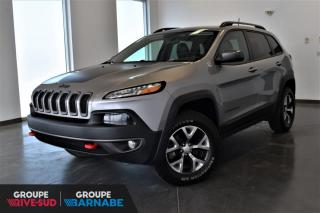 Used 2017 Jeep Cherokee TRAILHAWK + V6 + ENS. TEMPS FROIS + ECRA for sale in St-Jean-Sur-Richelieu, QC