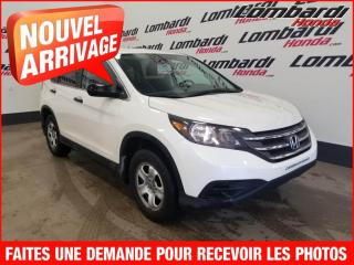 Used 2014 Honda CR-V LX/AUTO./AUCUN ACCIDENT for sale in Montréal, QC