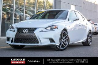 Used 2016 Lexus IS 300 F-Sport 2,gps,awd for sale in Montréal, QC