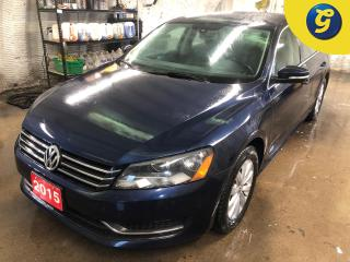 Used 2015 Volkswagen Passat TSI * Sport Mode * Navigation * Reverse camera * Bluetooth Wireless Phone Connectivity * Streaming Audio * Heated front seats * Dual Climate for sale in Cambridge, ON