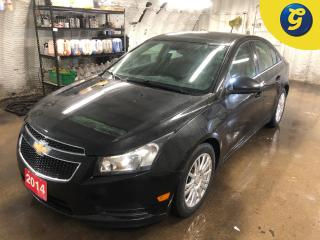 Used 2014 Chevrolet Cruze Eco * Phone connect * Voice recognition * On star * 17 Inch Polished Alloys * 6 Speed manual * Hands free steering wheel controls * Keyless entry * Cr for sale in Cambridge, ON