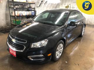 Used 2015 Chevrolet Cruze LT * Power Sunroof * Chevy Mylink Apple Carplay/Android Auto Phone connect * Voice recognition * Navigation Capable with Mobile Hotspot *  4G LTE Wifi for sale in Cambridge, ON