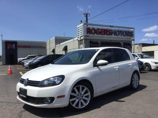 Used 2012 Volkswagen Golf TDI - 6SPD - NAVI - LEATHER - SUNROOF for sale in Oakville, ON